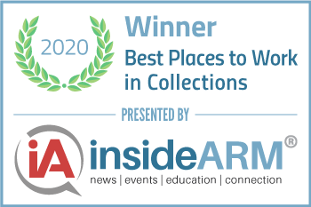 JP Recovery Wins 2020 Best Places to Work in Collections